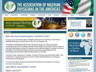 Association of Nigerian Physicians in the Americas