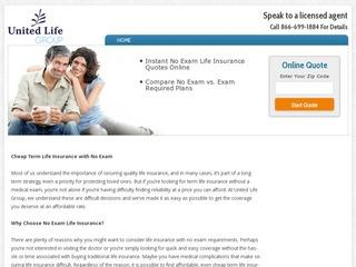 Cheap Term Life Insurance With No Exam