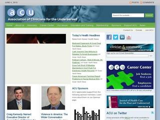 Association of Clinicians for the Underserved (ACU)