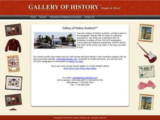Gallery of History, Inc.