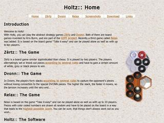 Holtz - Zertz and Dvonn board games