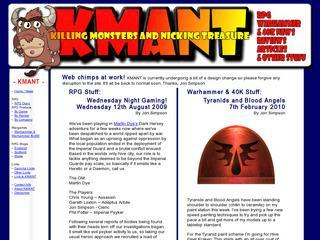 KMANT - Killing Monsters And Nicking Treasure