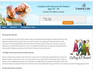 Life Insurance For Seniors