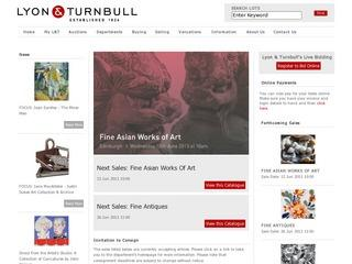 Lyon and Turnbull Fine Art Auctioneers