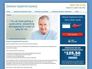 Medicare Supplemental Insurance Quotes
