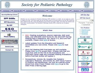 Society for Pediatric Pathology