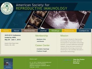 American Society for Reproductive Immunology