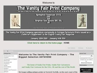 The Vanity Fair Print Company