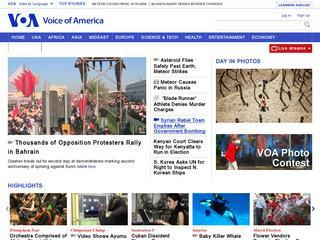 VOA News: Top Stories