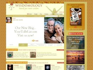 Wisdomology: People Share Wisdom