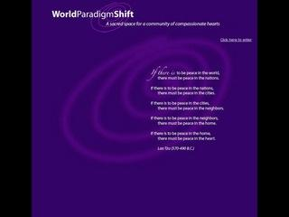 World Paradigm Shift
